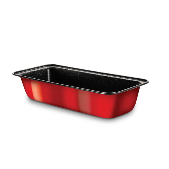 Berlinger Haus Marble Coating Loaf Pan - Burgundy Metallic