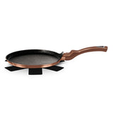 Berlinger Haus 25cm Marble Coating Pancake Pan - Rose Gold Noir Edition