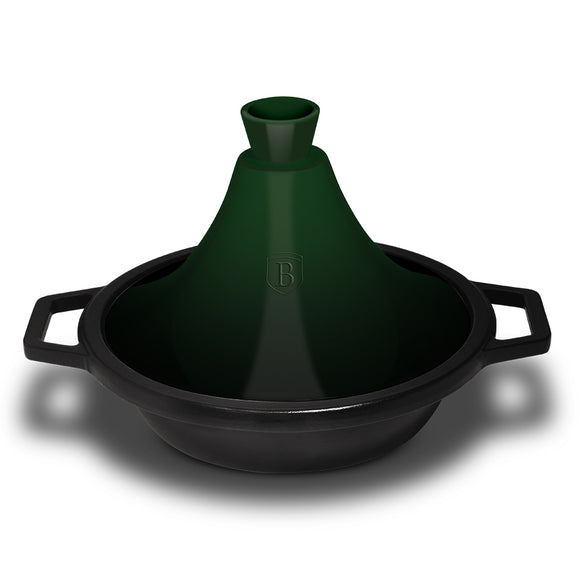 Berlinger Haus Cast Iron with Enamel Coating Tagine Pot - Emerald Edition