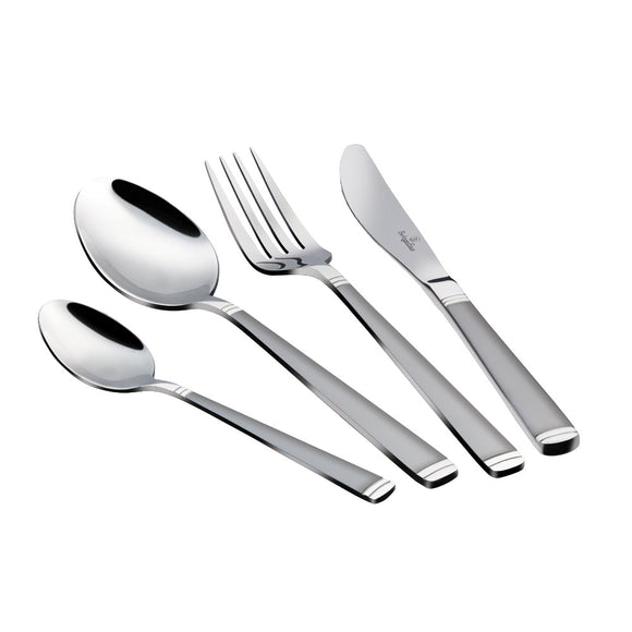 Berlinger Haus 24-Piece Cutlery Set - Satin Finish
