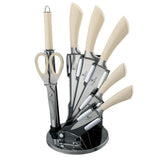 Berlinger Haus 8-Piece Stainless Steel Knife Set - Infinity Line