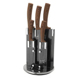 Berlinger Haus 6-Piece Forest Line Knife Set with Stand - Forest Line
