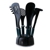 Berlinger Haus 7-Piece Kitchen Utensil Set - Aquamarine Edition