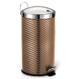Berlinger Haus 7L Stainless Steel Premium Pedal Bin - Rose Gold Metallic