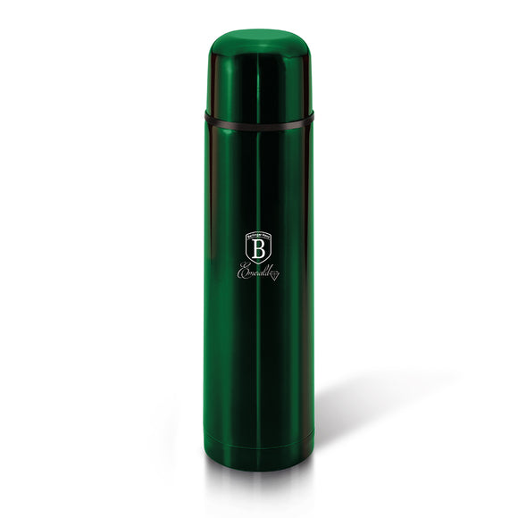 Berlinger Haus 1 Litre Thick Walled Vaccum Flask - Emerald Collection