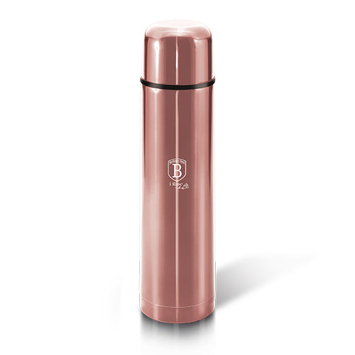 Berlinger Haus 1 Litre Stainless Steel Thick Walled Vacuum Flask - i-Rose Edition