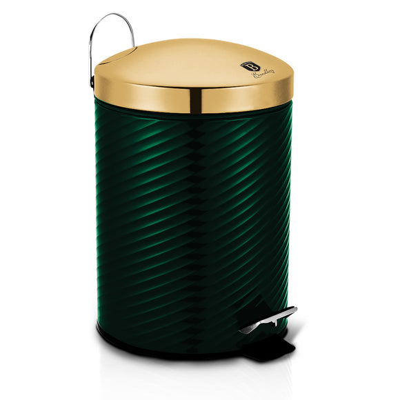 Berlinger Haus 7L Stainless Steel Premium Pedal Bin - Emerald Collection