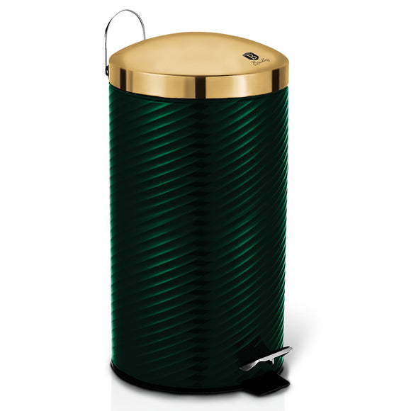 Berlinger Haus 20L Stainless Steel Premium Pedal Bin - Emerald Collection