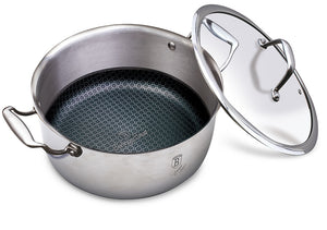 Berlinger Haus 20cm 18/10 Stainless Steel Casserole with Lid - Eternal Collection