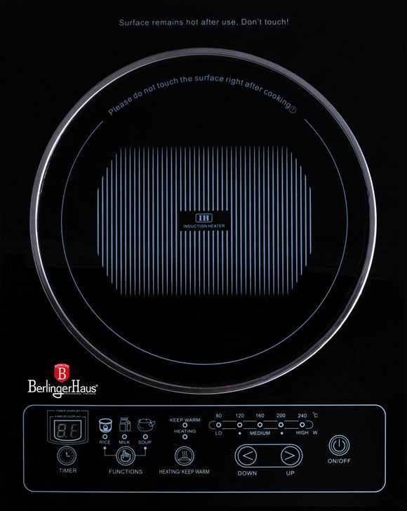 Berlinger Haus 1800W Induction Cooker - Black