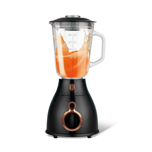 Berlinger Haus 600w 1.5L Table Blender - Black Rose Collection