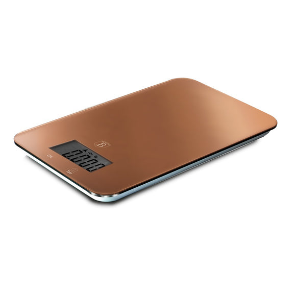 Berlinger Haus 5kg Kitchen Scale - Rose Gold Metallic