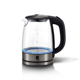 Berlinger Haus 2200W Electric Glass Kettle - Carbon Metallic