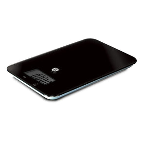 Berlinger Haus 5kg Tempered Glass & ABS Digital Kitchen Scale - Black