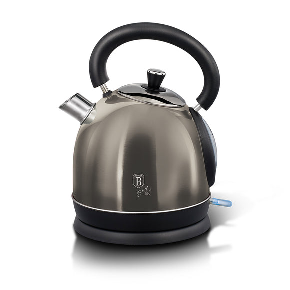 Berlinger Haus 1.7 Litre Stainless Steel Electric Kettle - Carbon Metallic