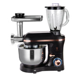 Berlinger Haus 1400w Kitchen Machine with Meat Mincer - Black Rose Collection