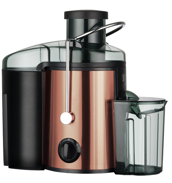 Berlinger Haus 400W Stainless Steel Juice Extractor - Rose Gold Edition