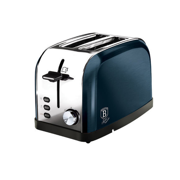 Berlinger Haus 2-Slice Toaster - Aquamarine Edition