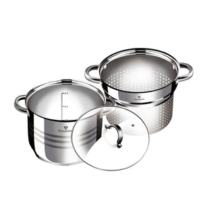 Blaumann 3-Piece Pasta And Soup Pot