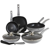 Blaumann 10-Piece Diamond Coating Cookware Set Diamond Collection