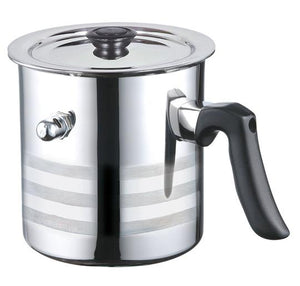 Blaumann 1.5 Litre Stainless Steel Whistling Milk Pot - Silver