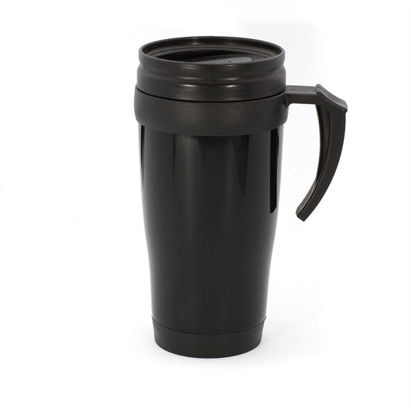 Blaumann 0.4L Travel Coffee Mug - Black
