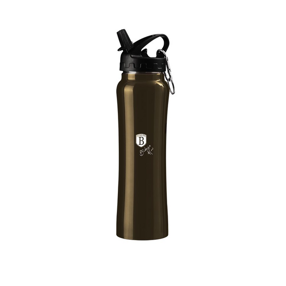 Berlinger Haus 500ml Stylish Sport Flask Bottle - Black