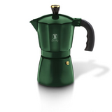 Created Berlinger Haus 3 Cups Aluminium Coffee Maker - Emerald Collection