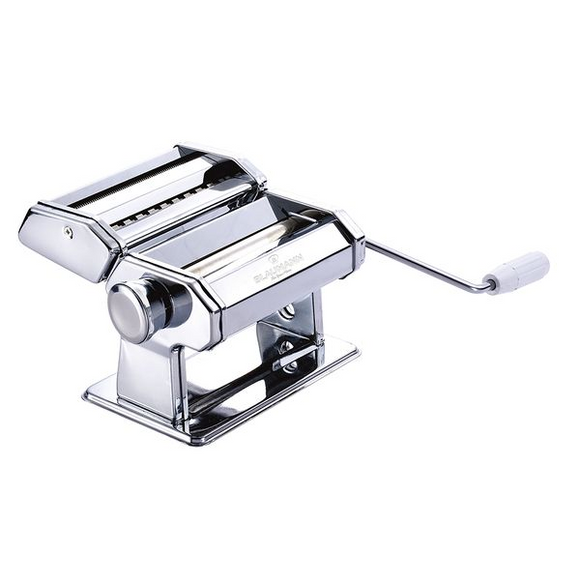 Blaumann 15cm Carbon Steel Pasta Machine - Silver