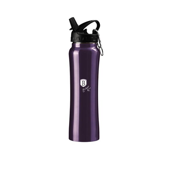 Berlinger Haus 500ml Stylish Sport Flask Bottle - Metallic Purple
