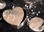"""Hearts"" Heart Shaped Wedding Box"
