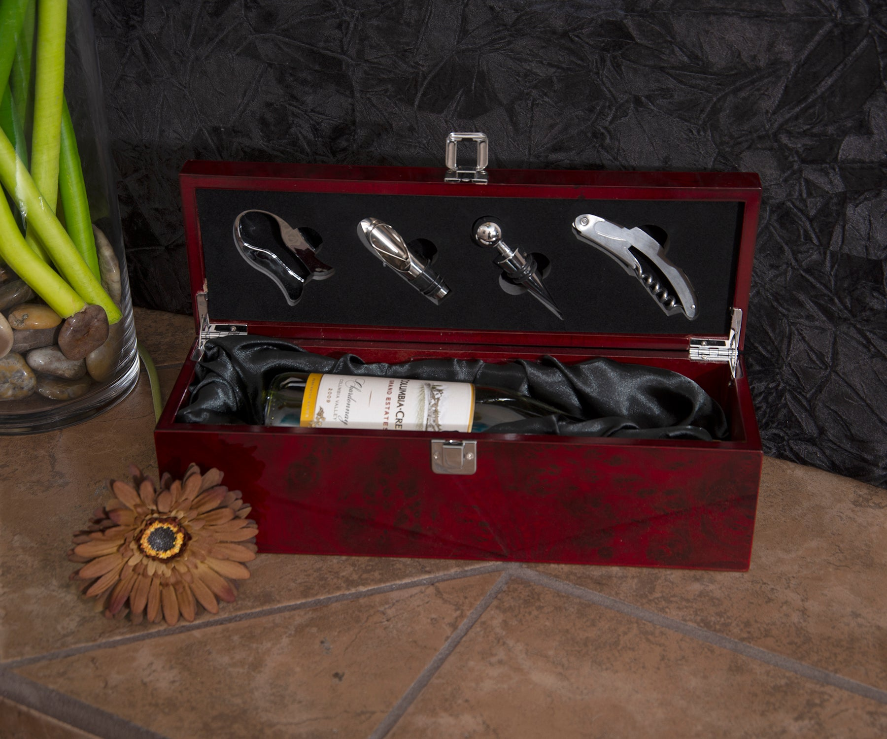 Rosewood Wine & Tool Box