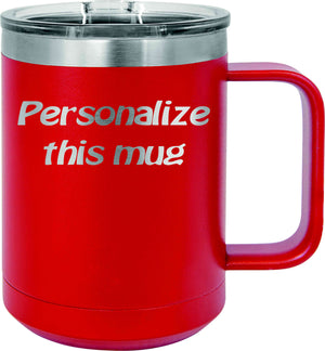Personalized 15oz Coffee Mug