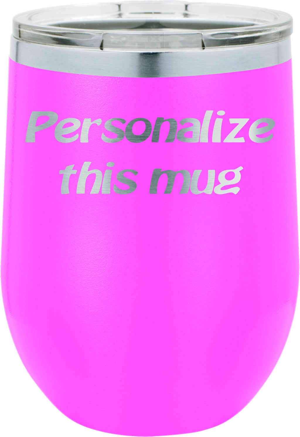 Personalized 12 oz Stemless Wine Tumbler