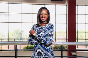 The Founder's Feature; Caroline Kamanja