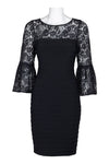 Black Lace Evening Dress - Sarai Afrique