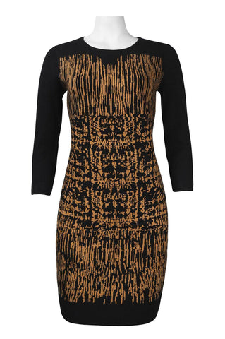 Bronze Black Sweater Dress - Sarai Afrique