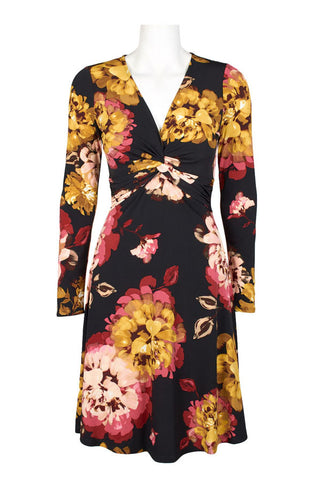 Cherry Floral Long Sleeved - Sarai Afrique