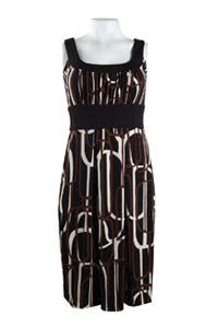 Earth Vanilla Pleated Dress - Sarai Afrique