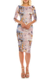 Crepe BodyCon Dress - Sarai Afrique
