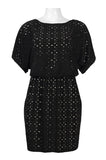 Black Perfo Dress - Sarai Afrique
