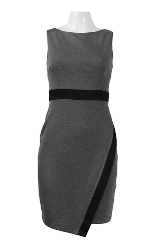 Grey Panel Dress - Sarai Afrique