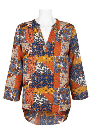 Brown Multi Print - Sarai Afrique