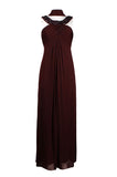 Round Neck Beaded Gown - Sarai Afrique