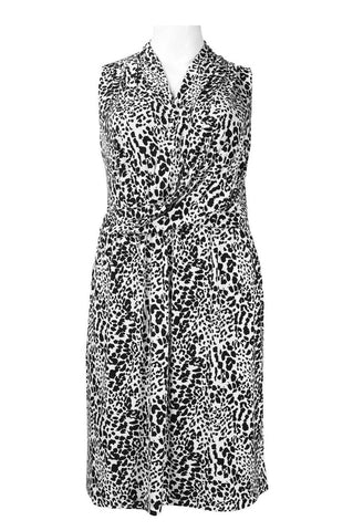 CHEATER PRINT DRESS - Sarai Afrique