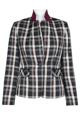 Multi colored checked Blazer - Sarai Afrique