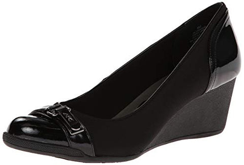 Black Office wedge - Sarai Afrique