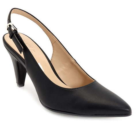 Black sling back shoe - Sarai Afrique