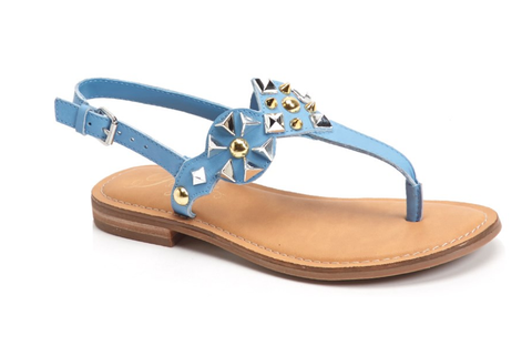 Blue thong sandals - Sarai Afrique
