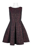 Burgundy black dress - Sarai Afrique